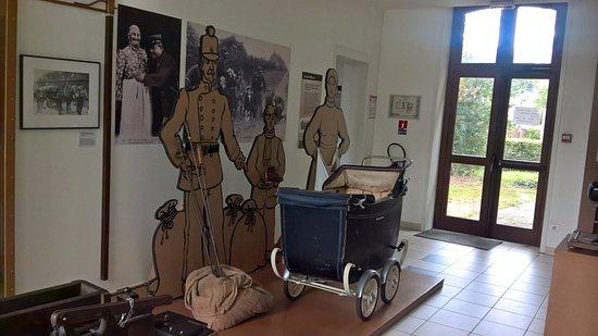 Musee De La Vie Frontaliere: une partie de la visite