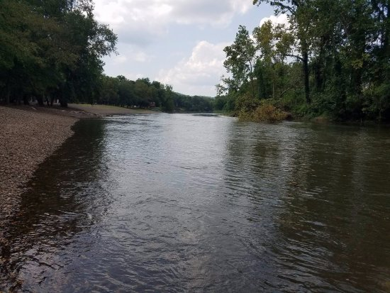 Gore, OK: river view