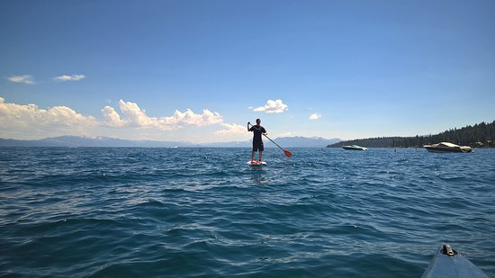 Carnelian Bay, Kalifornien: Beautiful summer day for a paddle