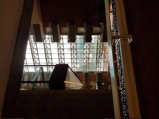 Hyatt Regency Cambridge, Overlooking Boston: View from 5th floor