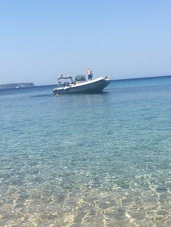 Slatine, Croatia: Boat
