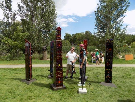 Loveland, CO: Art in the Park show - Benson Sculpture Park