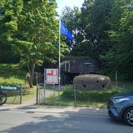 Westwallmuseum Bad Bergzabern : 2017 Entrance to the museum