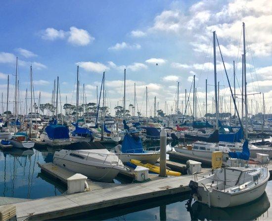 ดานาพอยต์, แคลิฟอร์เนีย: DANA POINT HARBOR, CA, boats in the Harbor!