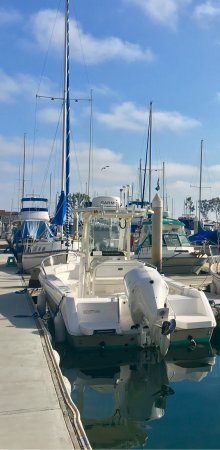 DANA POINT HARBOR, CA, boats in the Harbor!