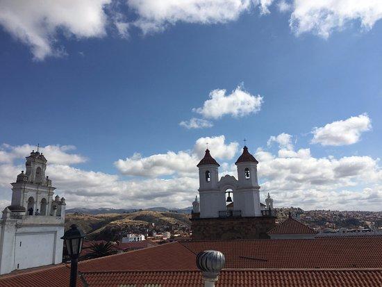 El Hotel de Su Merced: La vue sur les toits