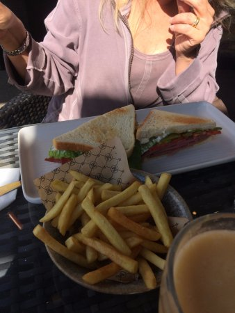 Loughton, UK: Salt Beef Sandwich