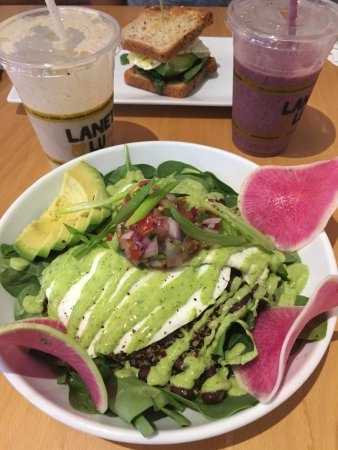 Exeter, NH : Huevos Rancheros & Vanilla Smoothie