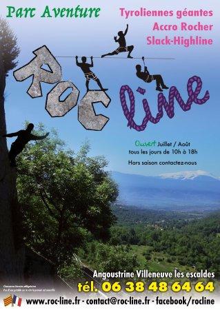 Angoustrine, Francia: Roc Line c'est l'accro-rocher au cœur de la Cerdagne dans un site sauvage aux vues imprenables