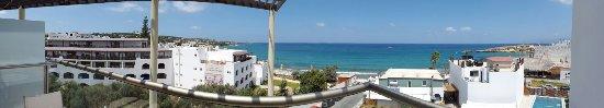 Albatros Spa Resort Hotel: Panoramique depuis la logia