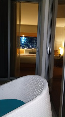 Marenas Beach Resort Sitting On Balcony Looking Into Bedroom 2nd Door To The Right