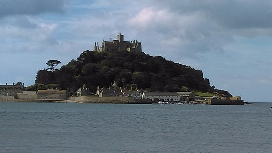 St. Michael's Mount: view from the boat