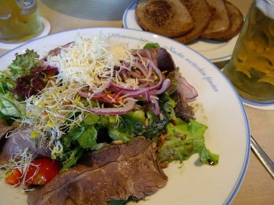 Klosterbräustüberl Reutberg: Steirer Salat
