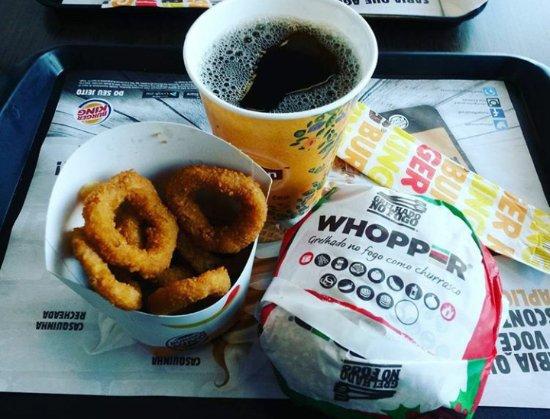 Duque de Caxias, RJ: Whopper +onion rings