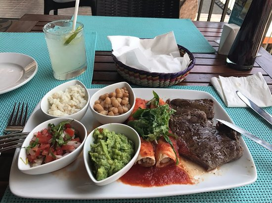 Taste Restaurant at Casa Cupula: This was my favorite dish! Carne Asada a la Tampiqueña