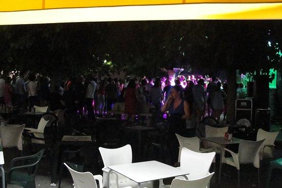 Galera, Spain: plaza Major...
