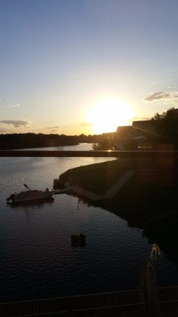 Osceola, IA: Sunset over West Lake!