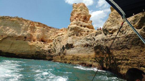 Passeio na costa de Portimão com a Alvor Boat Trips