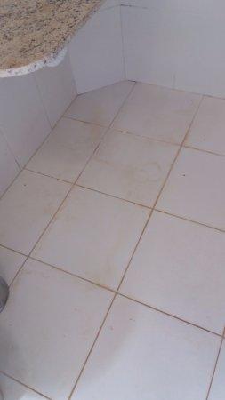 Chão Do Banheiro Picture Of Hotel Recanto Maria Bonita
