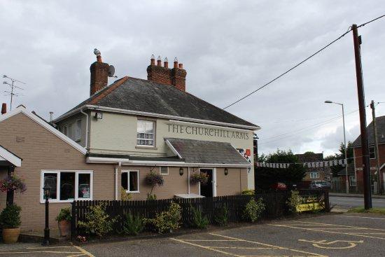 Alderholt, UK: The Churchill Arms