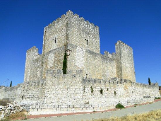 Encinas de Esgueva, Spanje: Encina de Esgueva, castillo de los Aguilar.