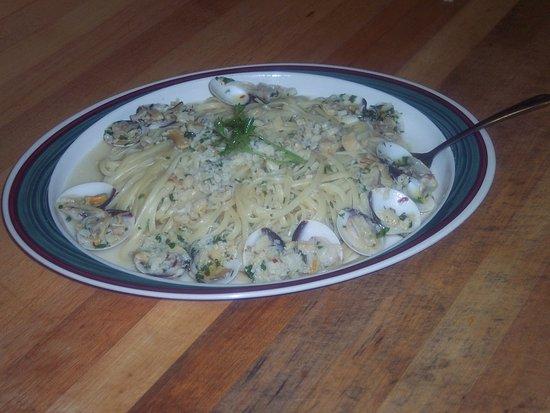 Front Royal, فيرجينيا: Spaghetti with clams