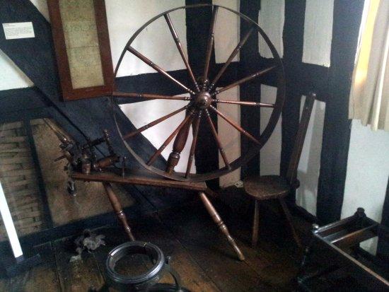 Hereford, UK: Spinning Wheel