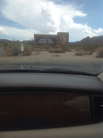 Twentynine Palms, Californien: The entrance