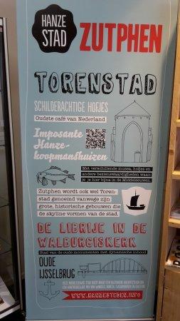 VVV Zutphen (tourist information): city of towers