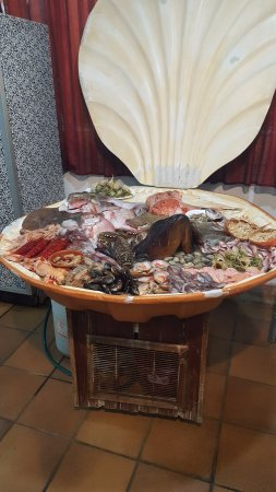 Restaurante El Lucas : Sea-food display 1