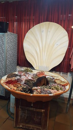 Restaurante El Lucas : Sea-food display 2