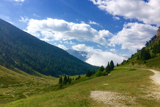 Villarodin-Bourget, França: Sentier de l'Orgère