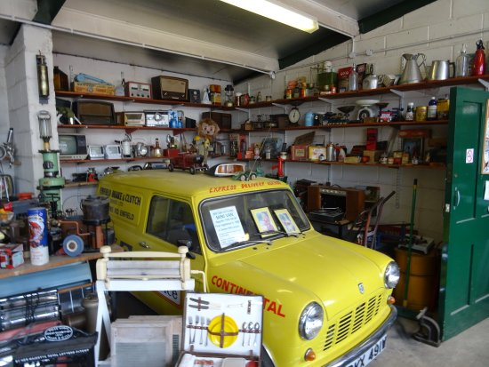 Enfield, UK: A lovely jumble in an outbuilding