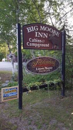 Big Moose Inn, Cabins & Campground: You have Arrived