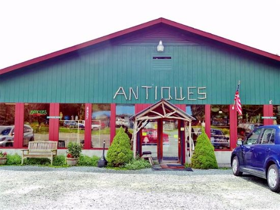 Foscoe, Caroline du Nord : Outside view of Antique Mall.