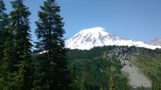 Mount Rainier: de todos os ângulos é possível ve-lo
