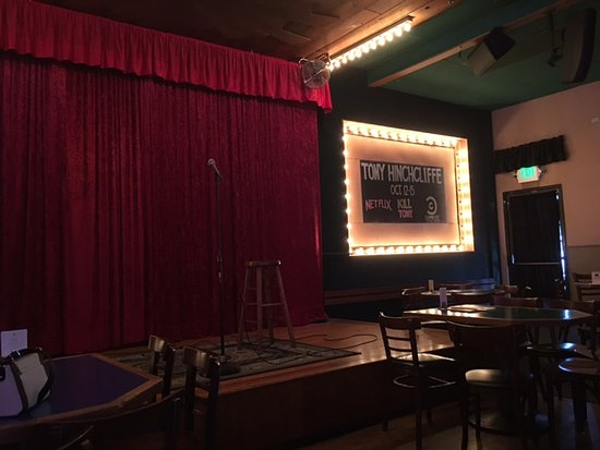 Rooster T Feathers Comedy Club : Stage