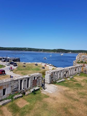 Phippsburg, ME: Fort Popham Maine