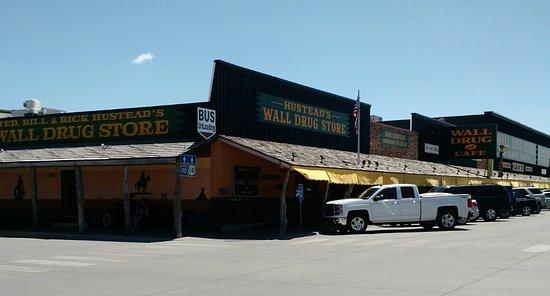 Wall, Dakota del Sur: Far west entrance
