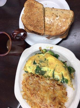 Capitola, CA: Vegetarian omelette