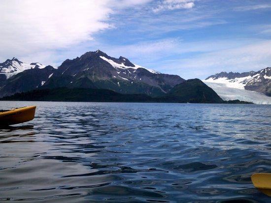 Cooper Landing, AK: Kayaking Kenai Fjords