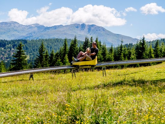 Serlesbahnen: The summer toboggan run