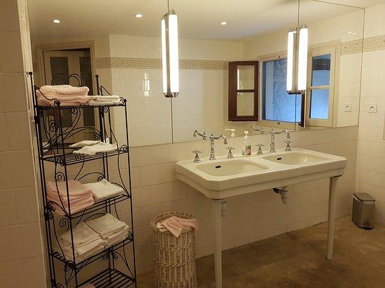 Molitg-les-Bains, Frankrig: Toilettes du hall d'accueil