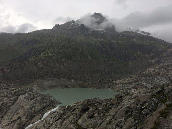 Gletsch, Ελβετία: El glaciar