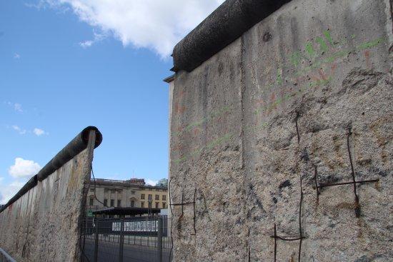 Topographie des Terrors : Segment der Mauer