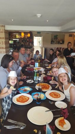 Rossendale, UK: meal with best friends