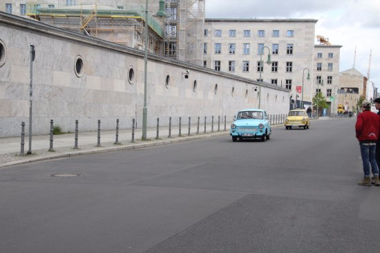 Topographie des Terrors : Trabants (on the day we visited)