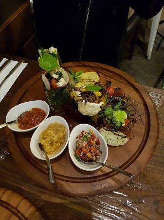 Henderson, Nova Zelândia: Vegan dish
