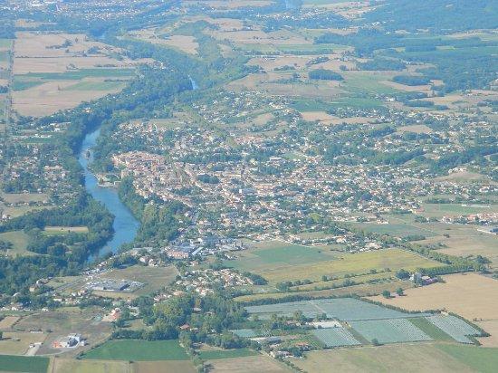 Coufouleux, France: Gaillac vu d'en haut