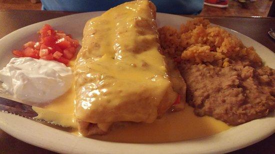 Navasota, TX: Rubbery tortilla